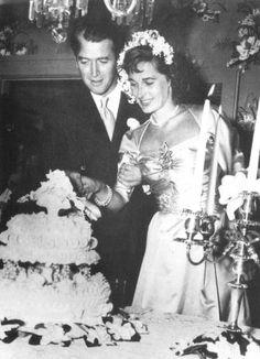 Jimmy Stewart's wedding, 1949