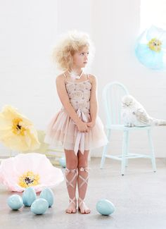 Another floral tutu dress from Tutu Du Monde's Down The Rabbit Hole Collection