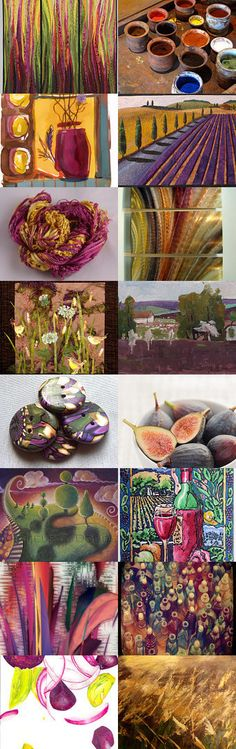 Rhubarb Fire by Linda Voth on Etsy--Pinned with TreasuryPin.com