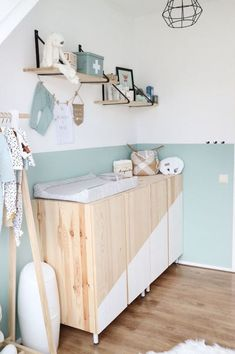 Baby room colors blue gender neutral 17 ideas for 2019 Baby room colors blue gender neutral … Babyzimmer Farben blau … Baby Bedroom, Baby Boy Rooms, Baby Room Decor, Kids Bedroom, Room Kids, Ikea Baby Room, Baby Room Colors, Baby Room Diy, Diy Baby