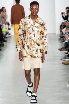 Fashion designer Lou Dalton she presents her Spring/Summer 2017 at London Collections: MEN.