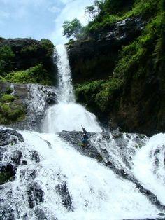 Falls in Sagada, Philippines