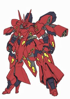 Dosusazabi / Miss Sazabi Custom Fan Art  artist: Mituo   found at Pixiv.net, they have really great artists down there yes?      Miss Sazabi...