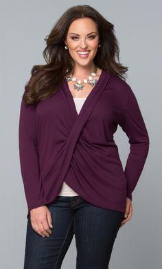 pinterest women\'s fashion over forty | fashion for plus size women ...