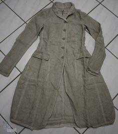 "www.modegalerie-bongardt.de - roundwood fashion, roundwood black label, black label summer dip Roundwood Roundwood 2015 Mega-frock coat / jacket ""100% linen"" in 3 different colors! 3701206-S15"