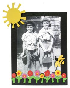 Add a spot of color to your favorite black and white photos with fun icon magnets from Embellish Your Story!
