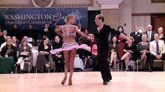 Riccardo Cocchi & Yulia Zagoruychenko at 2014 Washington Open DanceSport Competition.