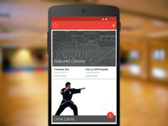 Martial Codex Android App by Andrew Cohen for thoughtbot
