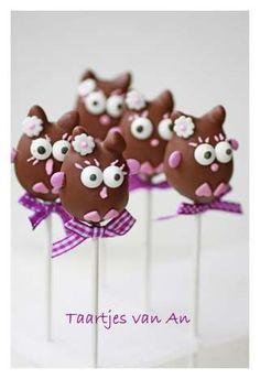 owl cake pops..sooo cute!!