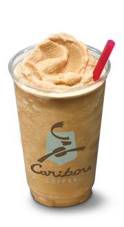 I love hanging out with my friends at Caribou Coffee, and they're dark chocolate coolers are so much better than a Starbucks frappuccino.