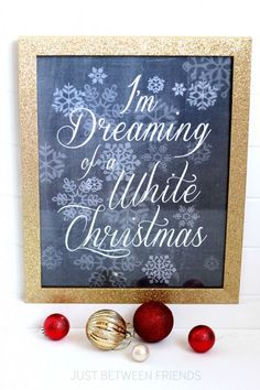 this post Free Christmas Printables first appeared on Just Between Friends I guess I am just feeling a little of the Christmas spirit lately because this week is going to be filled with holiday d