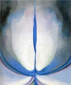 Georgia O'Keeffes - Blue Line