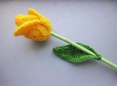 crochet tulip on youtube