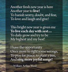 William Arthur Ward: Another fresh New Year