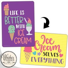 Ice cream party sign for a photo booth Diy Photo Booth, Party Mix, Ice Cream Party, Party Signs, Life Is Good, Backdrops, Handmade, Design, Hand Made