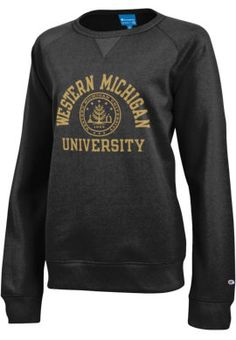 Alma Mater NCAA Mens Long Sleeve T-Shirt Western Michigan Broncos X-Large