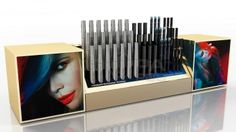 Хот Спот Cosmetics Display Stand, Cosmetic Display, Polaroid Film, Pos