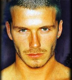 David Beckham :) Can you imagine what kind of amazing Karma Victoria must have had to end up married to this guy?
