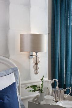 Alette Wall Light & Gosford Crystal Chrome LED Wall Light #Heathfield | Wall Lighting ... azcodes.com