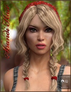Shandi Hair for Genesis 3 Female(s) | 3D Models and 3D Software by Daz 3D