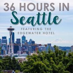 Welcome to Daily Mom's article on 36 Hours in Seattle with the Edgewater Hotel, where you can find all the information and tips you need, researched by our pare Edgewater Hotel, Lake Tahoe Summer, Airfare Deals, Seattle Hotels, Outdoor Fun, Vacation Destinations, Travel Tips, Road Trip, Adventure