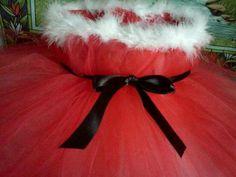 Christmas Santa Baby Tutu Dress (Size 3T). $39.99, via Etsy.