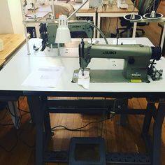 Lady's and gentlemen I present to you our new Juki's. They are absolutely perfect and they are ready to be taken for a spin. So come in today and test it out.#sfsewing #sipsnsews #juki #newsewingmachine #sewing #sewinglife #sf #sfsew #sf2016 #sflocal #sutterstreet #sewmuchcrafting