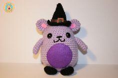 Lillyan la Bruja Mimiu de CrochetinYou en Etsy