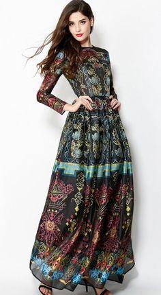 HippieRandoms.com anthro boho bohemian hippie hipster style dress