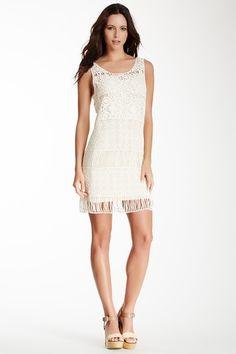 Crochet Overlay Dress by Freeway on @HauteLook