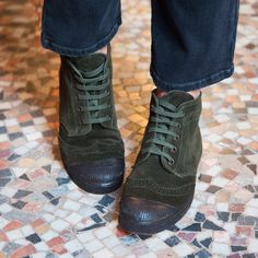 Derby Haute - Bensimon - FW17 Winter 2017, Fall Winter, Mode Lookbook, Le Tennis, Collaboration, All Black Sneakers, Derby, Combat Boots, Street Style