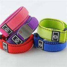 5 Pack Sport Strap Medical ID Bracelets