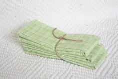Set of 3 Baby Burp Cloths  Green baby boy burp by Circa12two12, $14.00