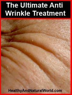 Anti wrinkle anti aging treatment