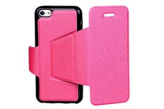 Magnetic Folio Flexible TPU Kickstand Leather Protector Cases for iPhone 5c | Lagoo Tech Iphone 5c Cases, New Iphone, Flexibility, Magnets, Tech, Leather, Technology, Back Walkover, Tecnologia