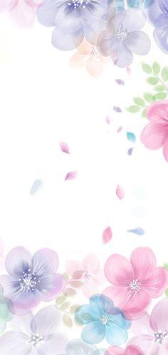 Flowery Wallpaper, Framed Wallpaper, Spring Wallpaper, Flower Background Wallpaper, Flower Phone Wallpaper, Wallpaper Iphone Cute, Cellphone Wallpaper, Flower Backgrounds, Colorful Wallpaper