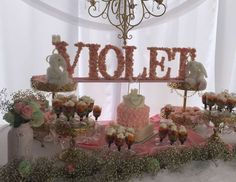 Baby Shower for Baby Violet - Shabby chic
