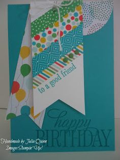 handmade by Julia Quinn - Independent Stampin' Up! Demonstrator