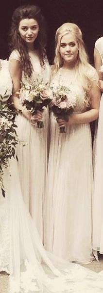 Eleanor Calder And Lottie Tomlinson at Jay's (Louis' mom) Wedding