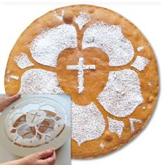 Lutherrose Kuchenschablone - Luther 2017 - Produkte | KOMM-Shop Christian Post, Christian Crafts, Lutheran Humor, Reformation Sunday, Martin Luther Reformation, Easter Bulletin Boards, Luther Rose, Religious Studies, Stencils