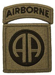 NSN: 8455-01-647-5680 (UNIT PATCH, 82ND AIRBORNE DIVISION (82ND ABN), MULTICAM / OCP) - ArmyProperty.com