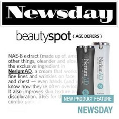 Check out the latest #Newsday feature on #Nerium!
