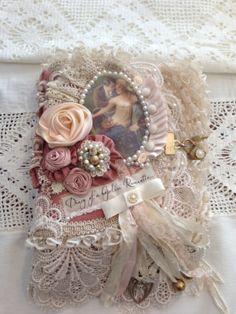 Diary of a Hopeless Romantic Fabric Journal