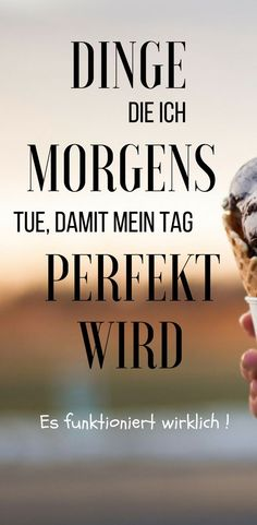 Dinge die ich morgens tue, damit mein Tag PERFEKT wird (mit Danone Actimel A perfect morning always ensures a perfect day. Tag Pin, Am Club, Visualisation, Work Life Balance, Body And Soul, Positive Mindset, Yoga Inspiration, Better Life, Self Improvement