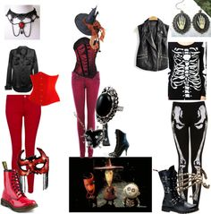 """Lock, Shock and Barrel"" by kyla-katt-addams on Polyvore"