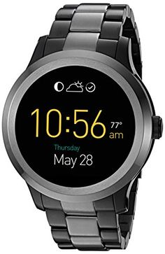 Fossil Q Founder Gen 2 Touchscreen TwoTone Gunmetal Stainless Steel Smartwatch *** Click image to review more details. Note: It's an affiliate link to Amazon