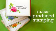 Video: Mass-Producing Cards with MISTI Tool + GIVEAWAY | Jennifer McGuire Ink