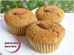 Muffin integrali  http://maninpastaqb.blogspot.it/2014/10/muffin-integrali.html