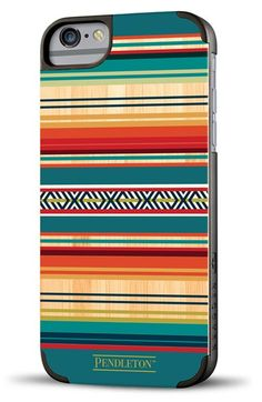 Free shipping and returns on Recover 'Pendleton - Serape' Wood iPhone 6 Plus Case at Nordstrom.com. A geometric Pendleton motif adds a rich texture to a fine iPhone case trimmed with protective polycarbonate.