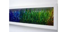 Joanne Tinker, 'Blue Horizon', sweet wrappers, 20 x Woolff Gallery Sweet Wrappers, 3d, Gallery, Blue